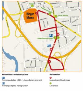 Binger Messe ShuttleService